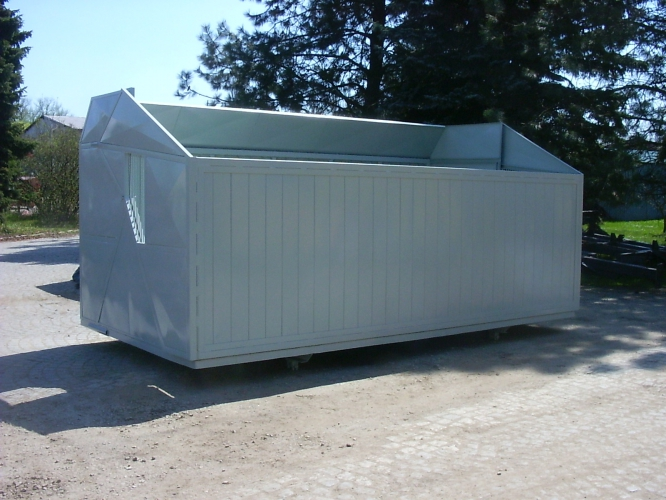 Velkoobjemová nástavba MV 7 - 052 pro podvozek nákladního automobilu LIAZ 151.261